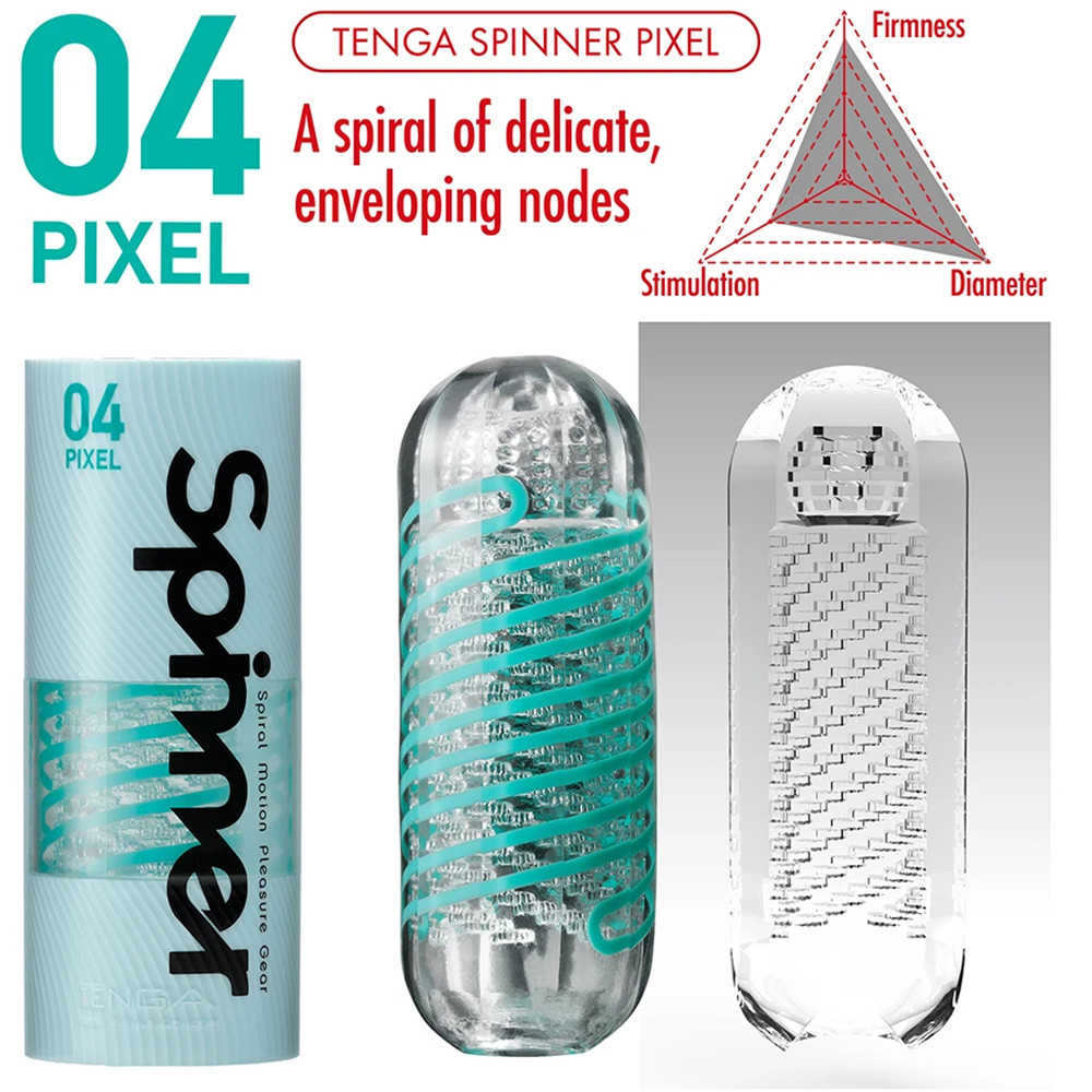Tenga Spinner Penis Masturbation Cup - 04 PIXEL Details