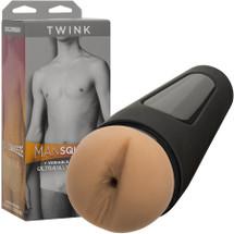 Man Squeeze Twink Ultraskyn Penis Masturbator Butt By Doc Johnson - Vanilla