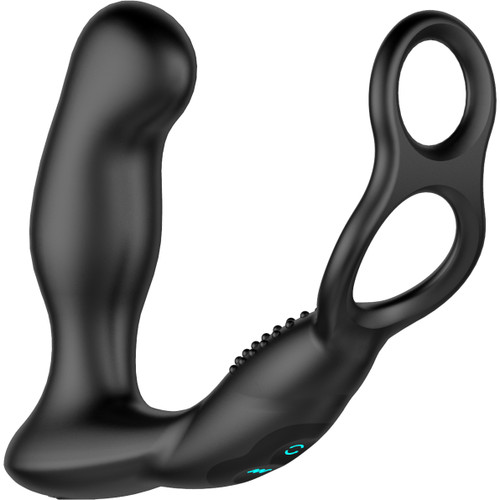 Nexus Revo Embrace Rechargeable Remote Control Rotating Silicone Prostate Massager With Cock Ring