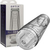 Main Squeeze Optix Penis Masturbator by Doc Johnson - Crystal Clear