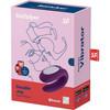 Satisfyer Double Joy Wearable Silicone Dual Stimulation App Enabled Couples Vibrator - Purple