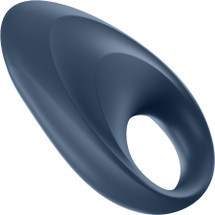 Satisfyer Mighty One Silicone Vibrating Rechargeable App Enabled Cock Ring