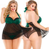 Curve Sonia Halter Babydoll & Panty by Fantasy Lingerie