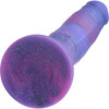 "Magic Stick Glitter 8"" Purple Silicone Dildo"