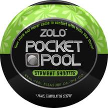 ZOLO Pocket Pool Straight Shooter Penis Masturbator
