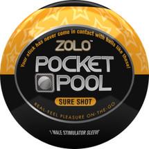 ZOLO Pocket Pool Sure Shot Penis Masturbator