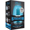 ZOLO Squeezable Mini Bubble Stroker Penis Masturbator - Blue