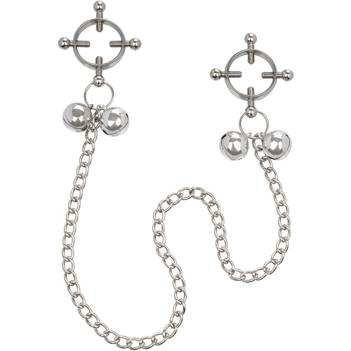 Nipple Grips 4-Point Nipple Press With Bells By CalExotics