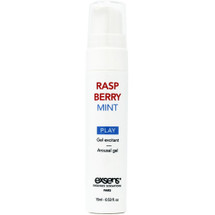 Raspberry Mint Cooling Arousal Gel by Exsens
