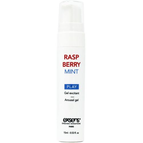 Raspberry Mint Cooling Arousal Gel by Exsens