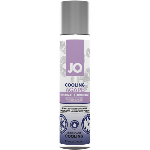 JO Agapé Cooling Water Based Personal Lubricant 1 fl oz