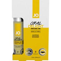 JO Oral Delight Arousal Gel - Vanilla Thrill 1 oz