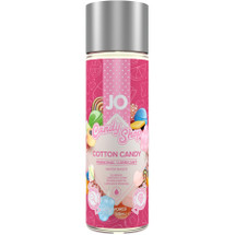 JO H2O Candy Shop Cotton Candy Flavored Water Based Personal Lubricant 2 fl oz