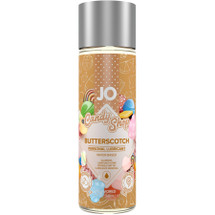 JO H2O Candy Shop Butterscotch Flavored Water Based Personal Lubricant 2 fl oz
