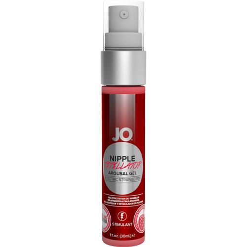 JO Nipple Titillator Arousal Gel Electric Strawberry 1 oz