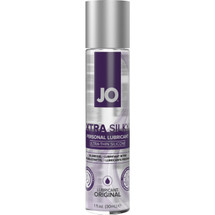 JO XTRA Silky Ultra-Thin Silicone Based Personal Lubricant 1 fl oz