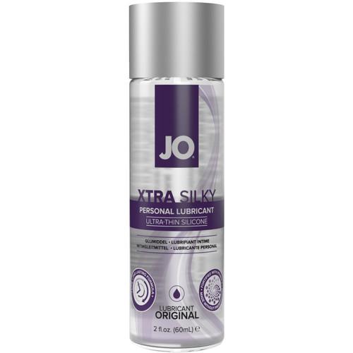 JO XTRA Silky Ultra-Thin Silicone Based Personal Lubricant 2 fl oz