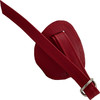 Hand Harness Leather Strap-On By Unicorn Collaborators - Red