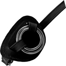 Hand Harness Leather Strap-On By Unicorn Collaborators - Black