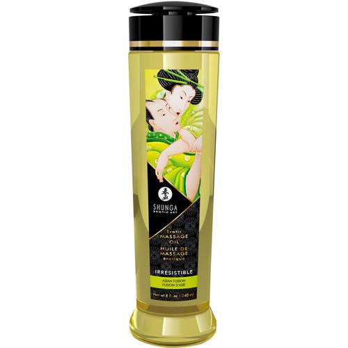 Shunga Erotic Massage Oil - Irresistible - Asian Fuzion 8 fl. oz