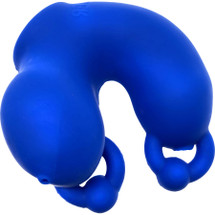 Oxballs Meatlocker Silicone Chastity Device - Blue Ice