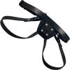 Mr. S Leather Vac-U-Lock Leather Dildo Harness Small - Medium