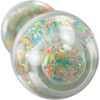 Sparkle Glow Glass Dildo With Aurora Borealis Crystal Base By Crystal Delights - Tooti Fruiti