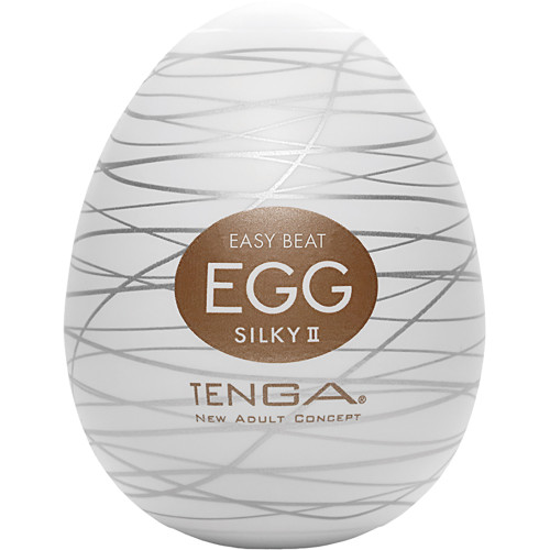 Tenga Egg Penis Masturbator - Silky II