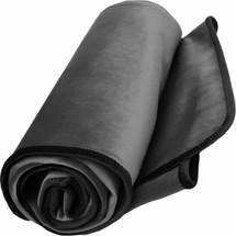 "Fascinator King Size Lush Throw Moisture-Proof Sensual Blanket - Velvish Grey 76"" x 80"""
