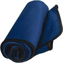 "Liberator Fascinator Throw Moisture-Proof Sensual Blanket - Velvish Royal Blue 72"" x 54"""