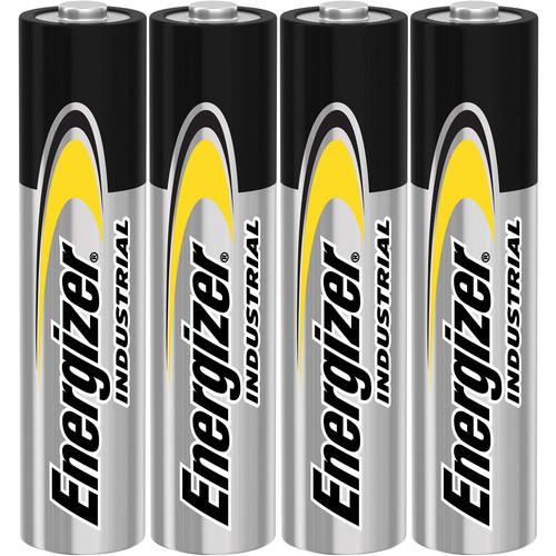 Energizer Industrial AAA Batteries, 4 Count