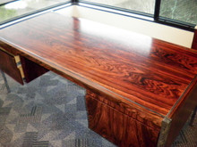 Used Richard Schultz Rosewood Desk