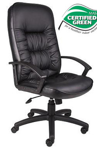 B7301 EXECUTIVE OR CONFERENCE CHAIR IN LEATHERPLUS