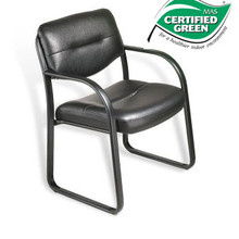 B9529 GUEST CHAIR IN LEATHERPLUS