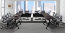 Premium Performance Flip Top Nesting Training Tables