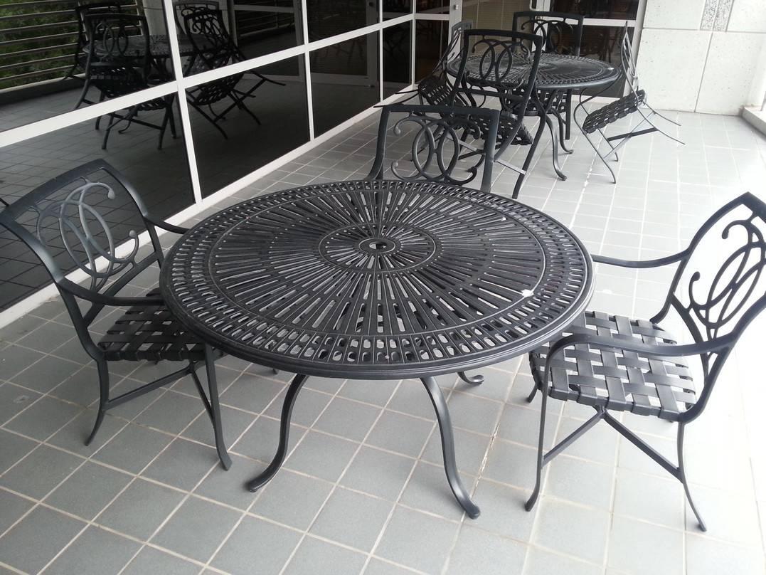 Used Tropitone Cast Aluminum Outdoor Patio Sets