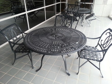 2 Used Tropitone Cast Aluminum Outdoor Patio Sets