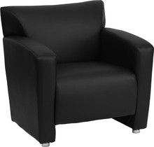 Leather Reception Lounge Chair Loveseat and Sofa