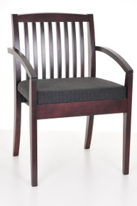 Wood Guest Chair in Espresso