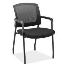 Baker Series Mesh Back Stackable Guest Chair