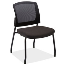 Baker Series Mesh Back Stackable Guest Chair without Arms