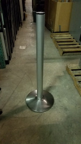 30 Used Beltrac Retractable Belt Crowd Contol Stanchion Safety Barriers
