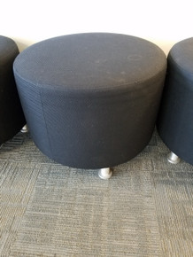 Used Steelcase Alight Round Ottoman Casual Lounge Chairs