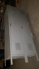 USED Lockers Set of 2, 78H x 30W x 18D