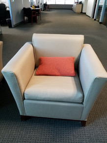 Used 3 Lounge Chair in Beige Fabric