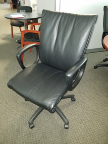 Used 10 Executive Conference Chairs in Black