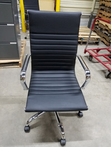 Used Chrome Frame Executive Conference Chairs in Black from Easy Office Furniture in Marietta and Atlanta GA