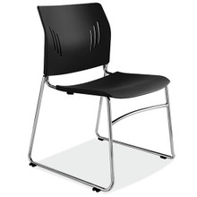 Stackable Break Area Chairs in 4 Colors from Easy Office Furniture in Marietta and Atlanta GA