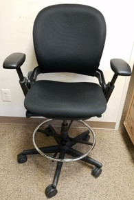 EOF Steelcase Leap Ergonomic Fully Adjustable Work Stool - Refurbished