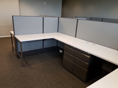 USED AIS Divi 48H 5x5 Cubicles from Easy Office Furniture in Atlanta and Marietta GA